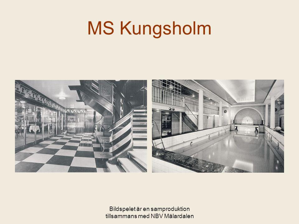 Bildspelet är en samproduktion tillsammans med NBV Mälardalen MS Kungsholm