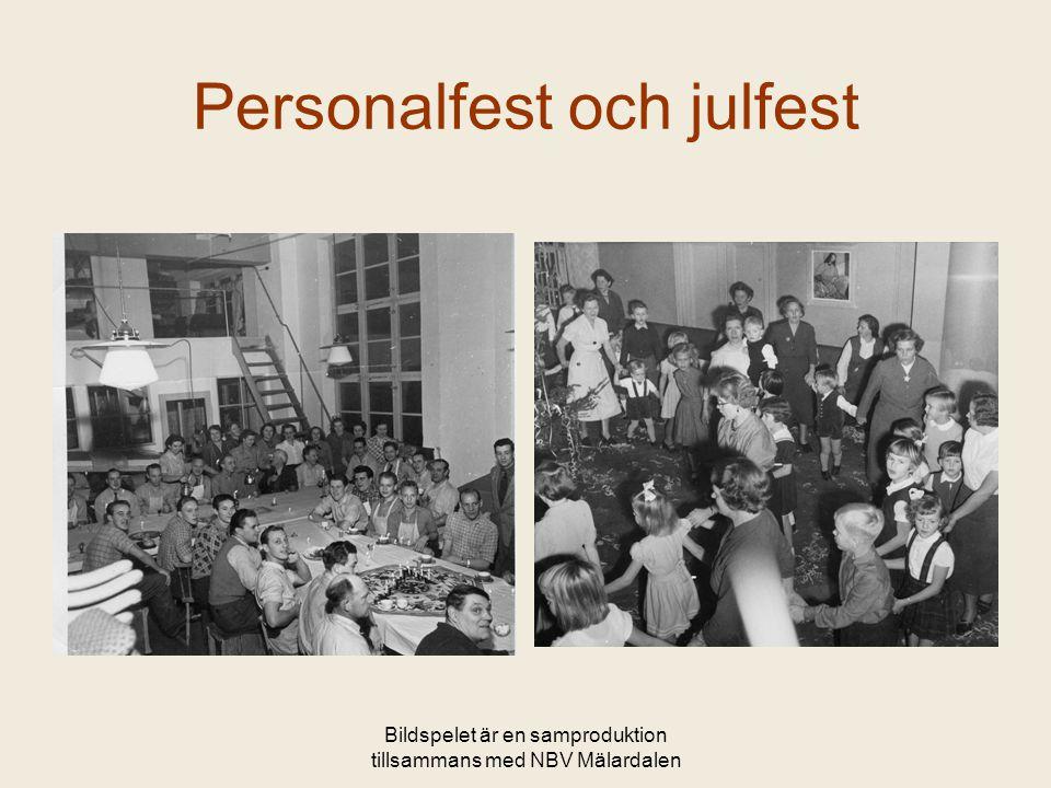 Bildspelet är en samproduktion tillsammans med NBV Mälardalen Personalfest och julfest