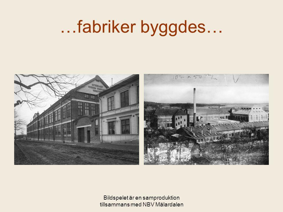 Bildspelet är en samproduktion tillsammans med NBV Mälardalen NK-villan idag 2006 öppnades villan för allmänheten och utställningar och andra aktiviteter genomfördes i kommunens regi.