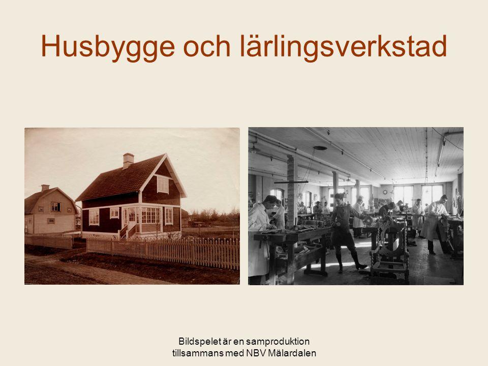 Bildspelet är en samproduktion tillsammans med NBV Mälardalen Kända möbler från NK-epoken