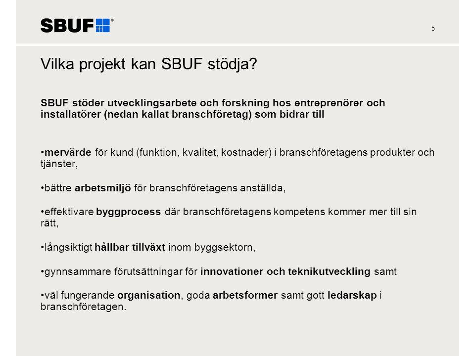 6 SBUF:s organisation och beslutsgång