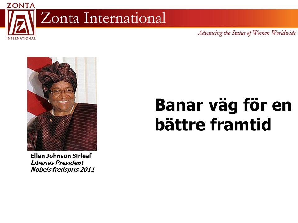 Ellen Johnson Sirleaf Liberias President Nobels fredspris 2011 Banar väg för en bättre framtid