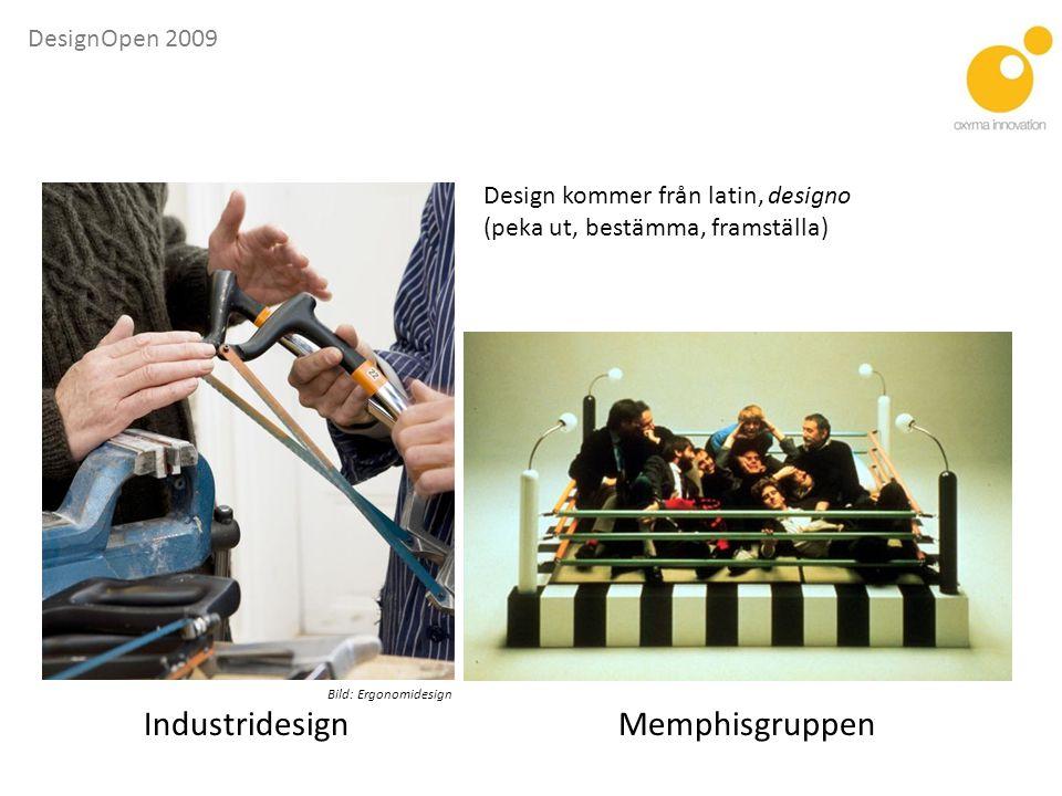 DesignOpen 2009 Design – nödvändig för fortsatt välfärd ? Vaddå disajn?