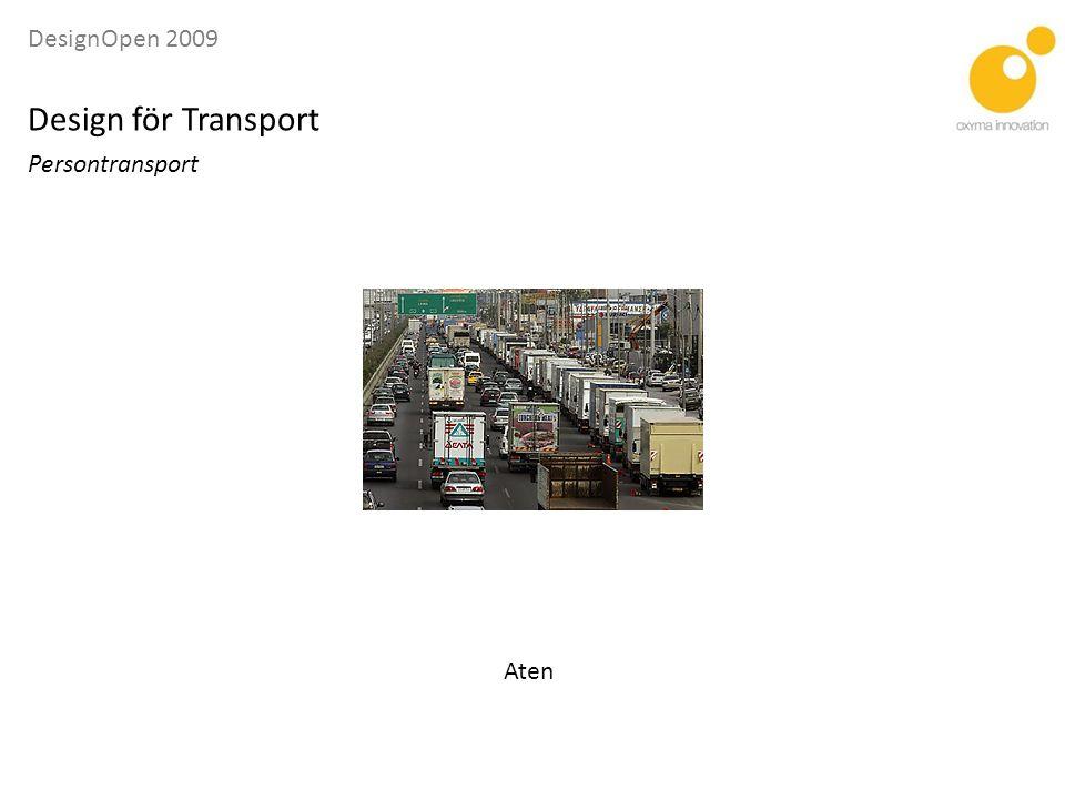 DesignOpen 2009 Design för Transport Logistik E/S ORCELLE Zero Emissions Car Carrier Bild: NoPicnic