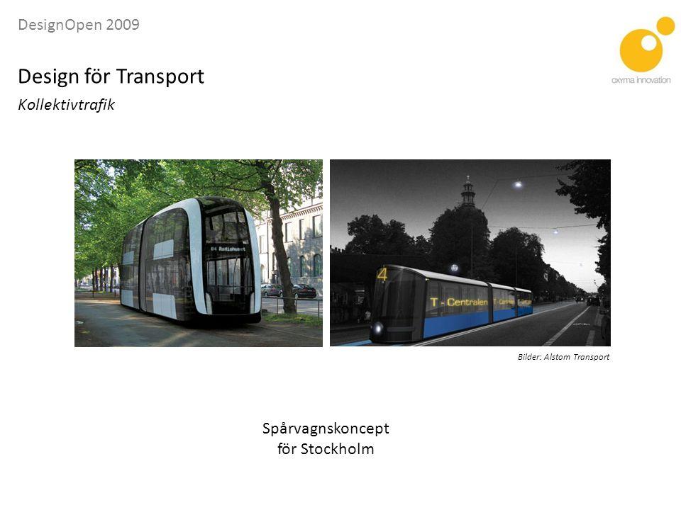 DesignOpen 2009 Design för Transport Kollektivtrafik Vectus PRT (Rapid Personal Transit)