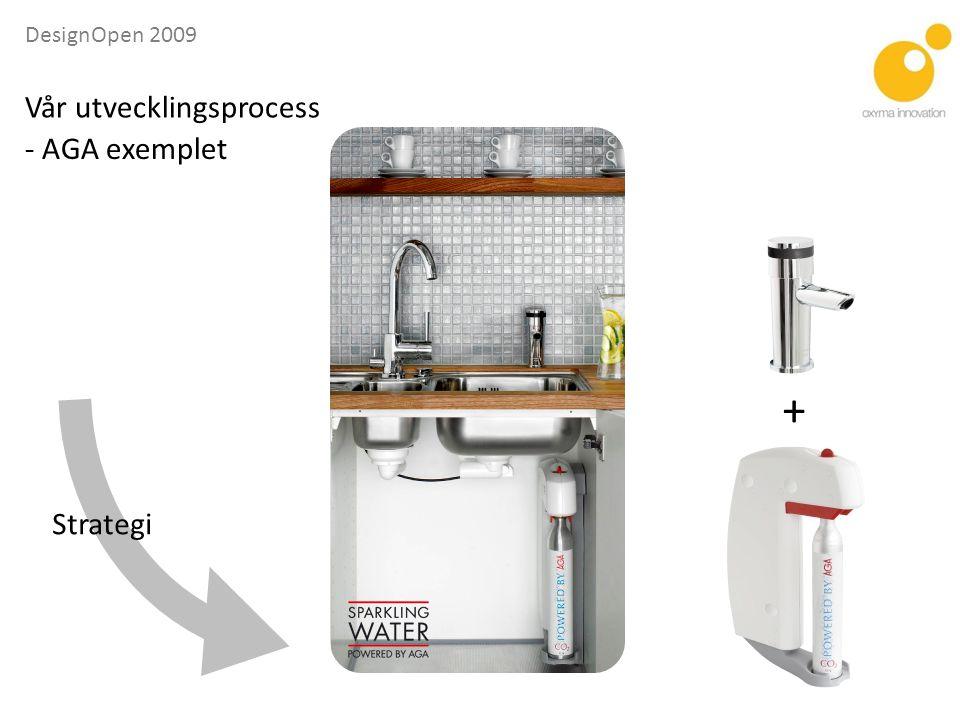 DesignOpen 2009 - AGA exemplet Strategi + Vår utvecklingsprocess