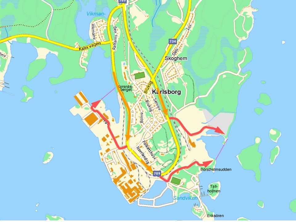 Trafik plan Avseende trafik under muddrings arbeten Allmänt Under arbetet med muddrings projektet kommer en intensiv byggtrafik passera inne på Billeruds område.