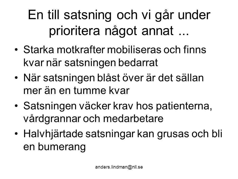 En dag allmän medicin Anders Lindman 2008-10-29 På min tid… •Var facket och landstingsråden K-G Holmkvist, Ola Dahlin och Toivo Hofslagare överens om att utjämna löneskillnaderna mellan distriktsläkare och överläkare på sjukhus.