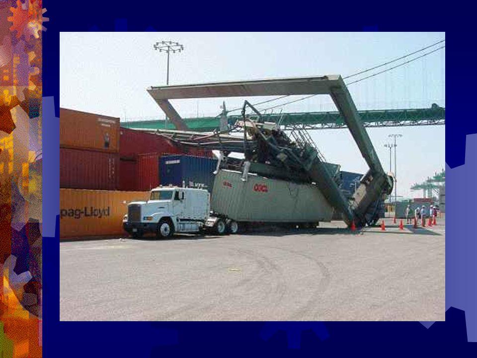 Eftersom jag nu hade erfarenhet av vatten fick jag nu börja på en containerkran i hamnen … kul?...