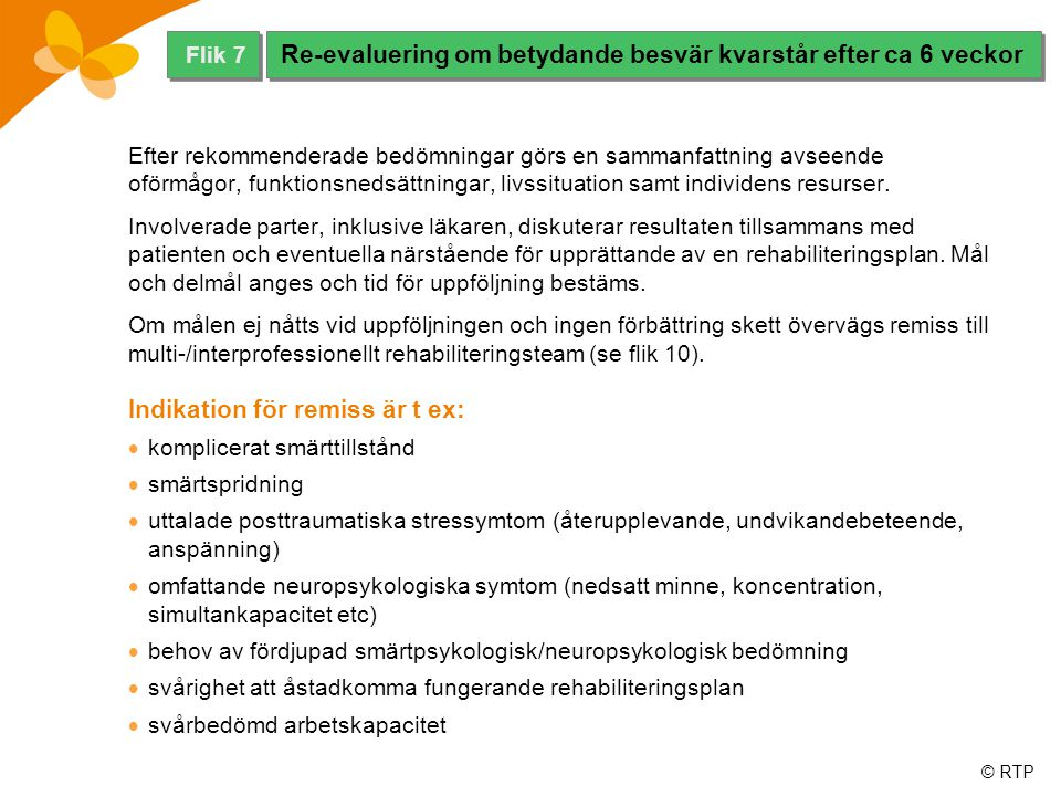 © RTP Akut smärta, relaterad till vävnadsskada, är sensorisk och förmedlad av det nociceptiva systemet.