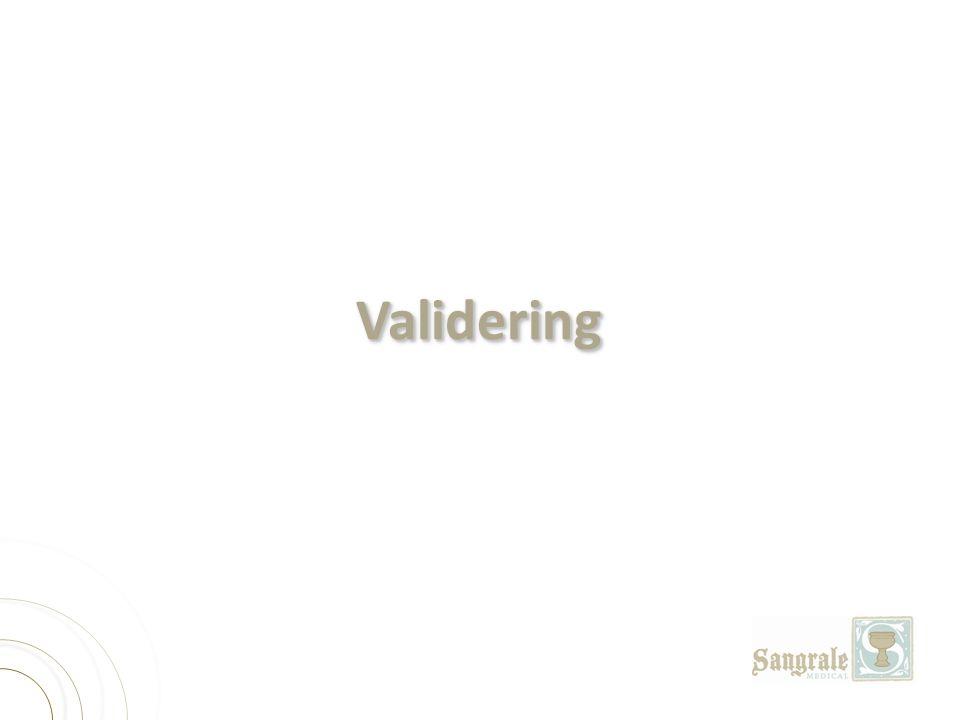 ValideringValidering