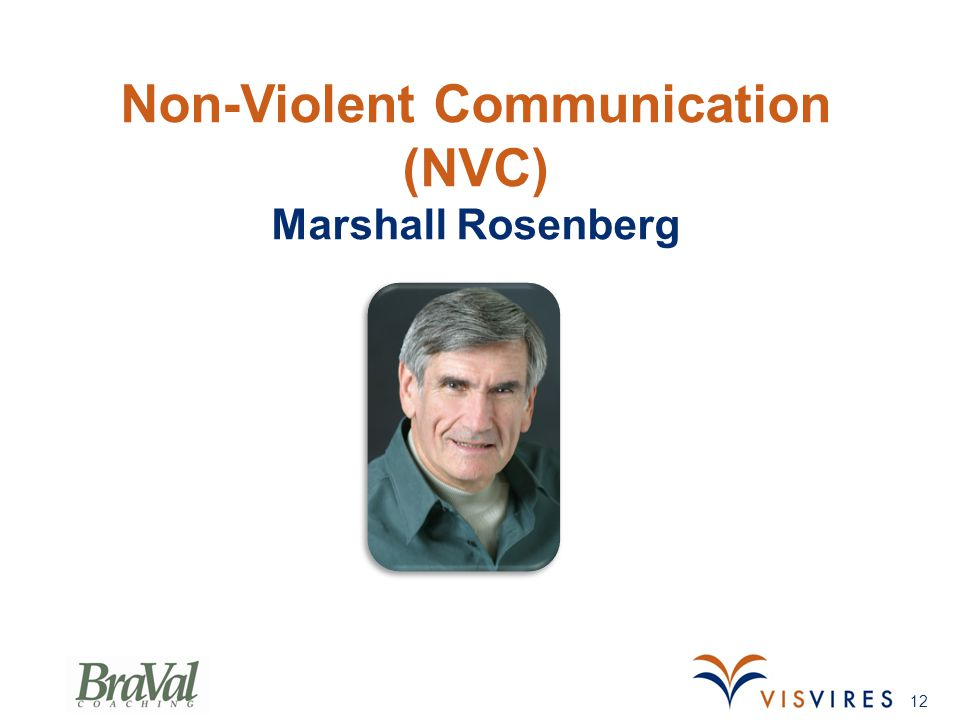 Non-Violent Communication (NVC) Marshall Rosenberg 12