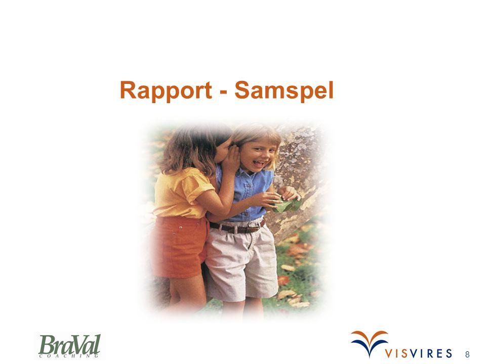 Rapport - Samspel 8