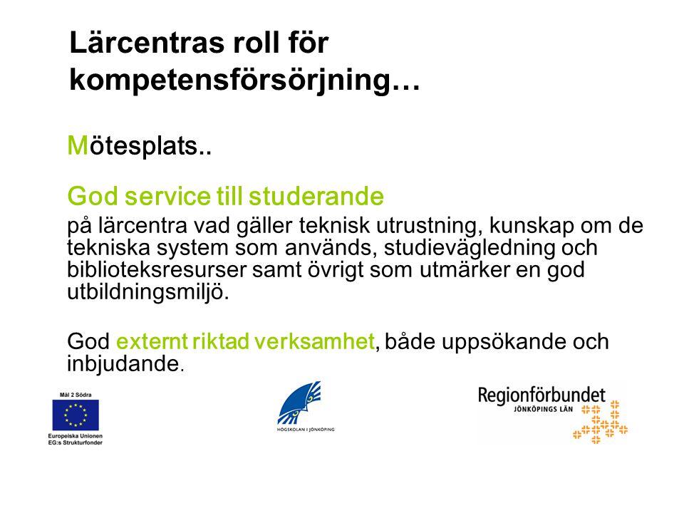 Mäklare och Motor… Aktör och strategisk resurs i system för kompetensförsörjning, sysselsättning och kompetensutveckling.