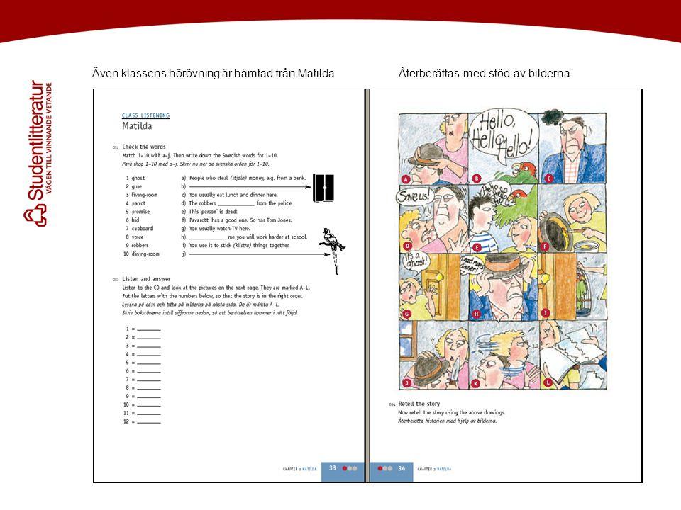 Välkommen att prova cd:n redan nu på www.studentlitteratur.se/magicwww.studentlitteratur.se/magic Håller samman klassen, utmanar var och en.