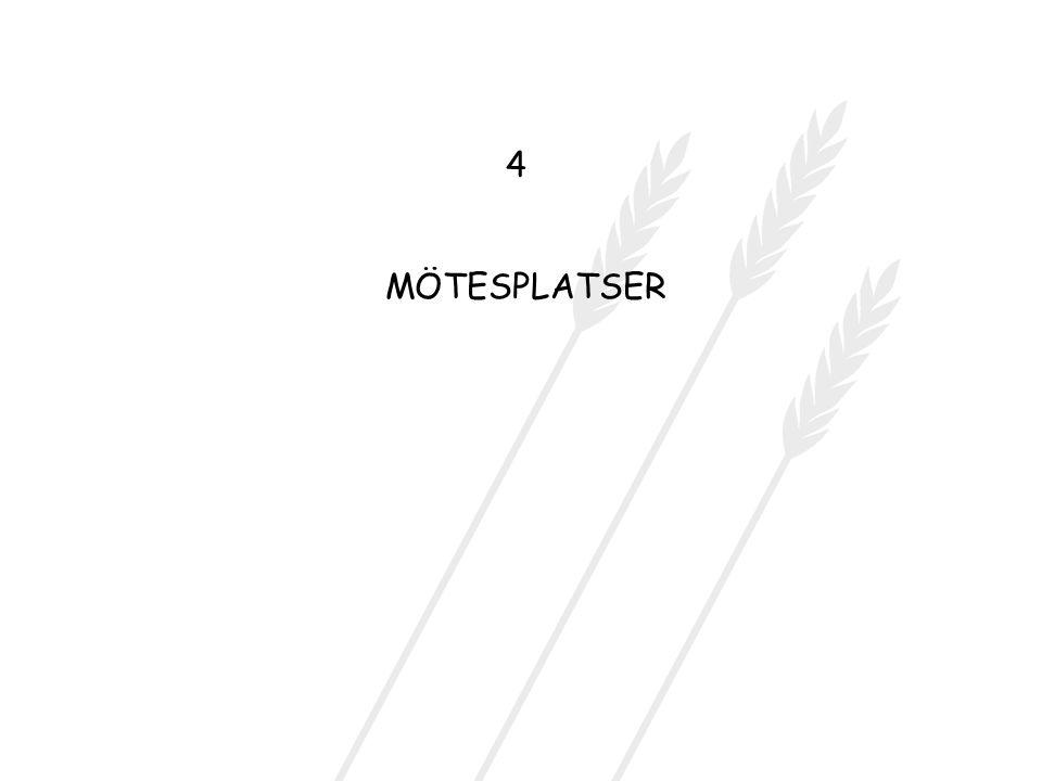 MÖTESPLATSER 4