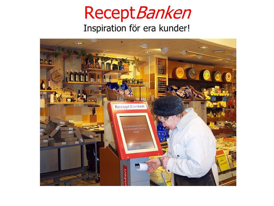 ReceptBanken Inspiration för era kunder!