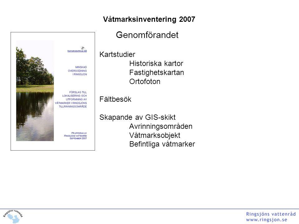 Våtmarksinventering 2007