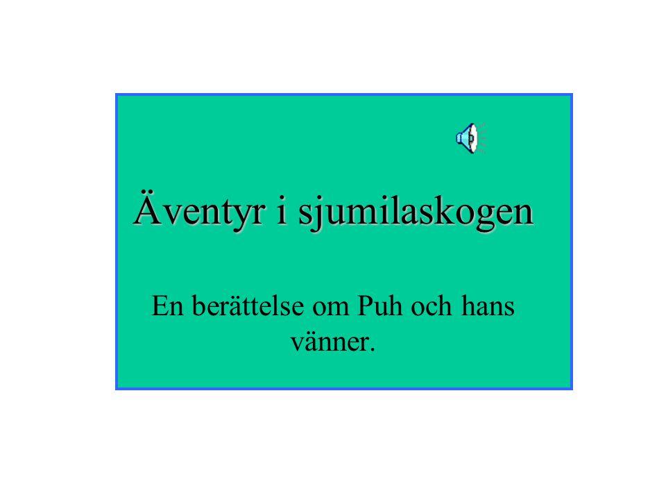Äventyr i sjumilaskogen En berättelse om Puh och hans vänner.