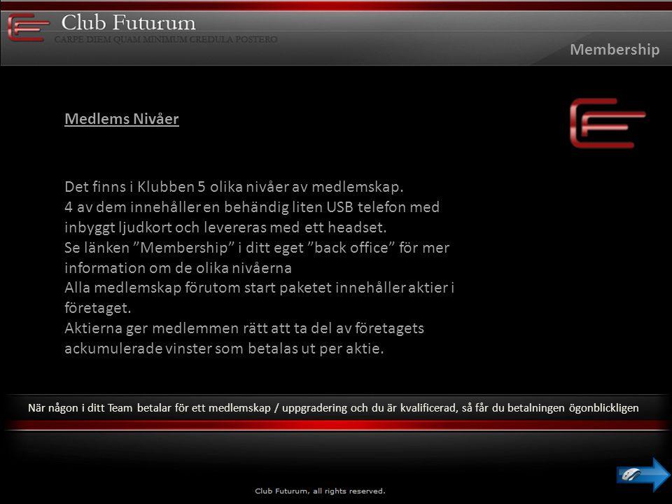 Club Futurum förlitar sig på att betalnings företagen gör en noggrann kund kontroll.