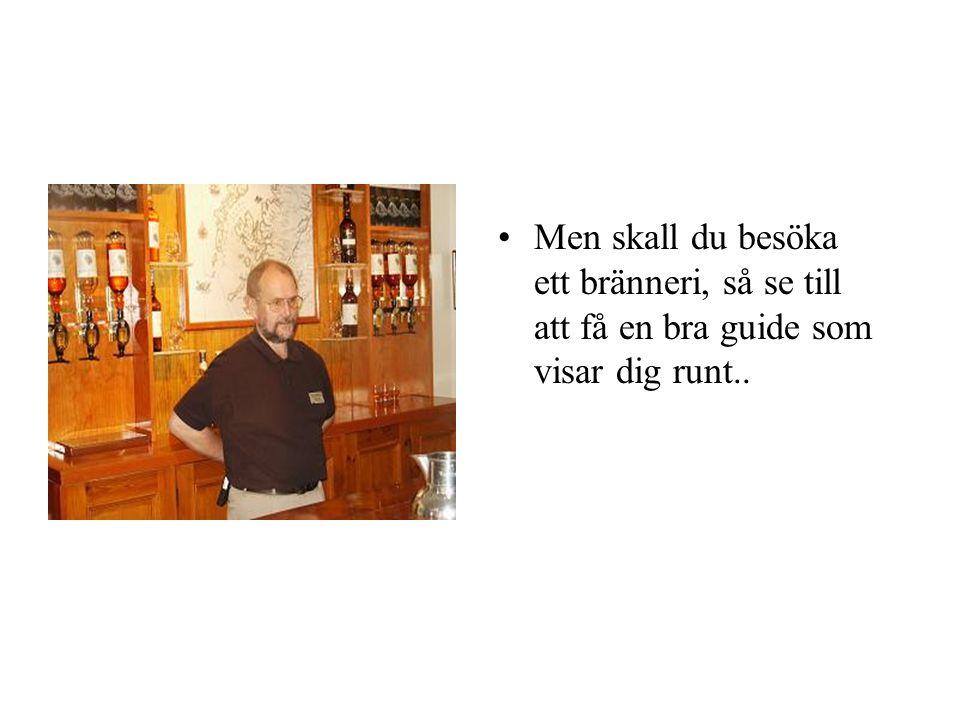 •Nja Industri och industri… •Hos en del brännerier är whisky fortfarande ett stolt hantverk.
