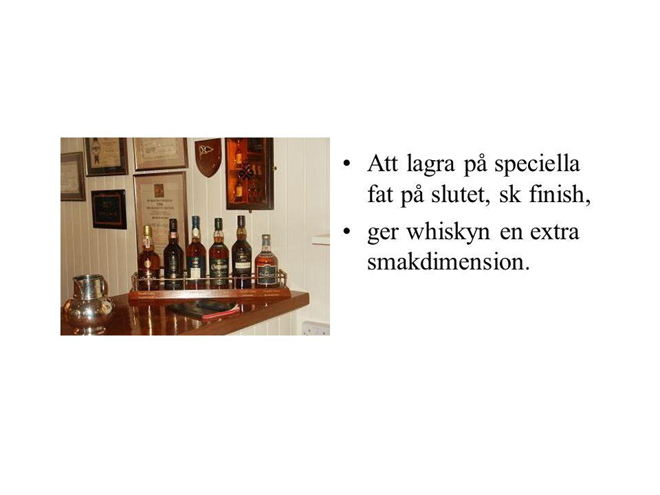 •På korn, jäst och vatten vilar whiskyns grund. •Torv, koppar & ek förädlar den.