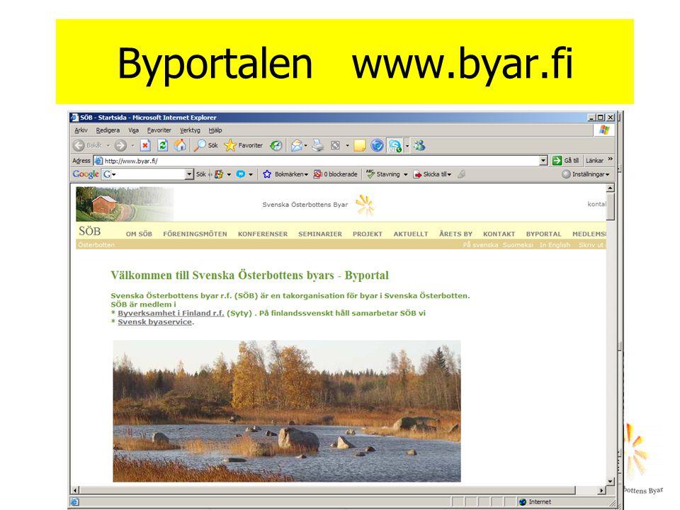 Byportalen www.byar.fi