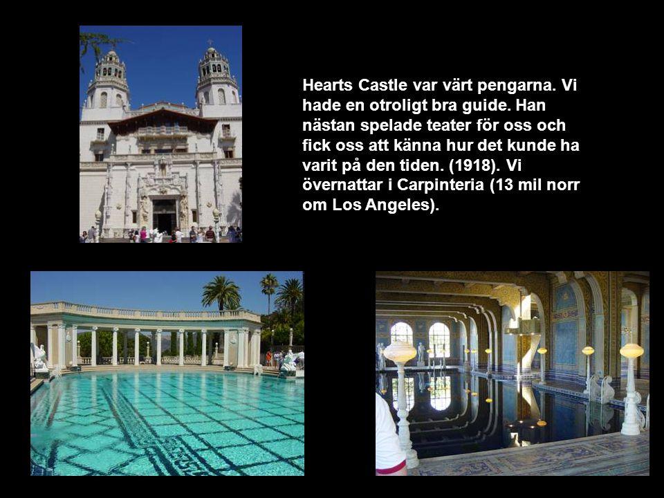 Hearts Castle var värt pengarna. Vi hade en otroligt bra guide.