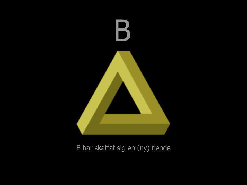 B B har skaffat sig en (ny) fiende