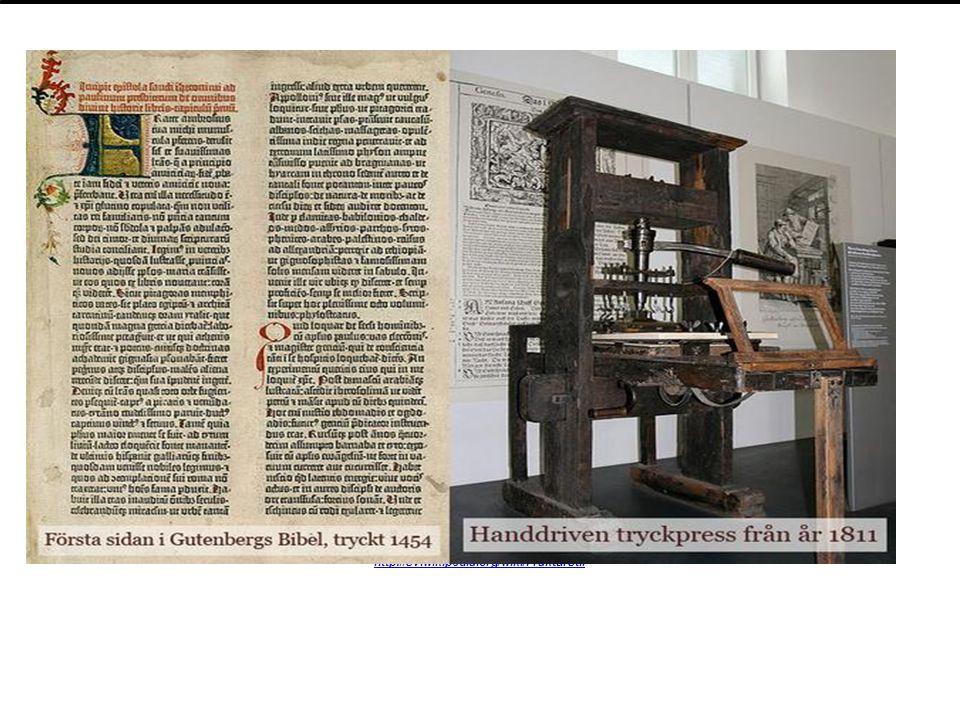 Johann Gutenberg var den tyska, fenomenala mannen som låg bakom boktryckarkonstens genombrott. Han skapade en originell tryckteknik som innebar att ma