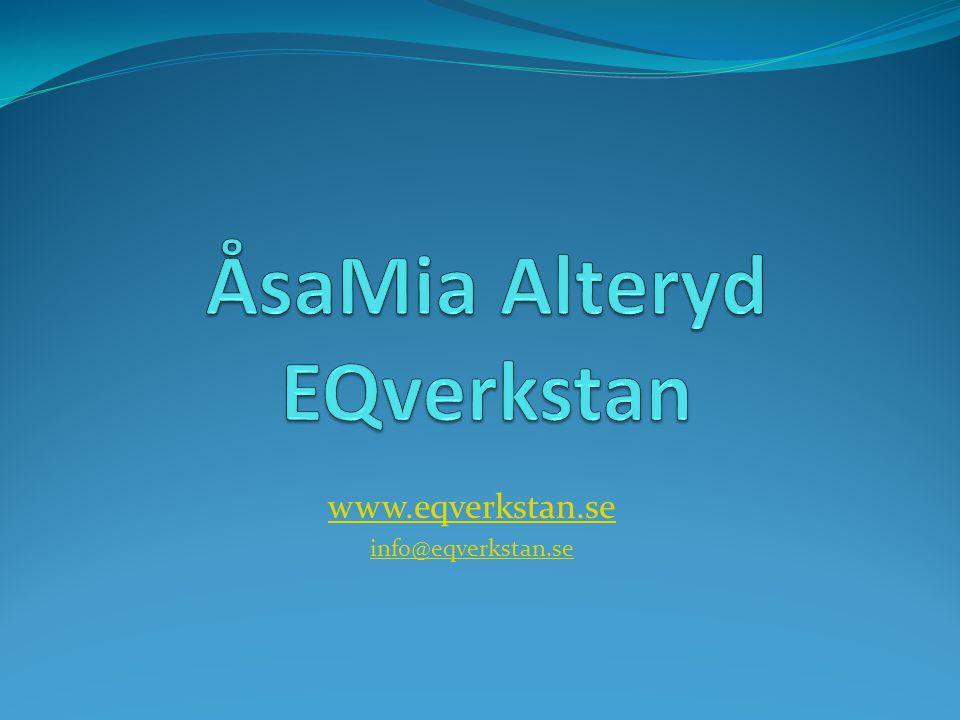 www.eqverkstan.se info@eqverkstan.se