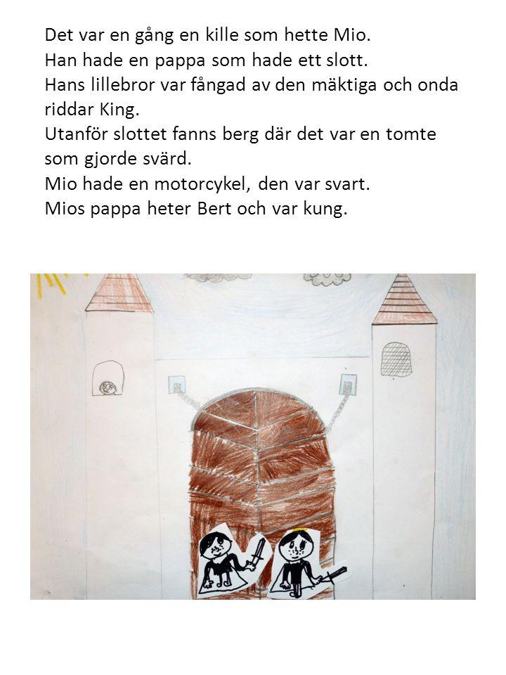 Långt bort låg ett slott där riddar King bodde.Riddar King hade en ond ekorre.