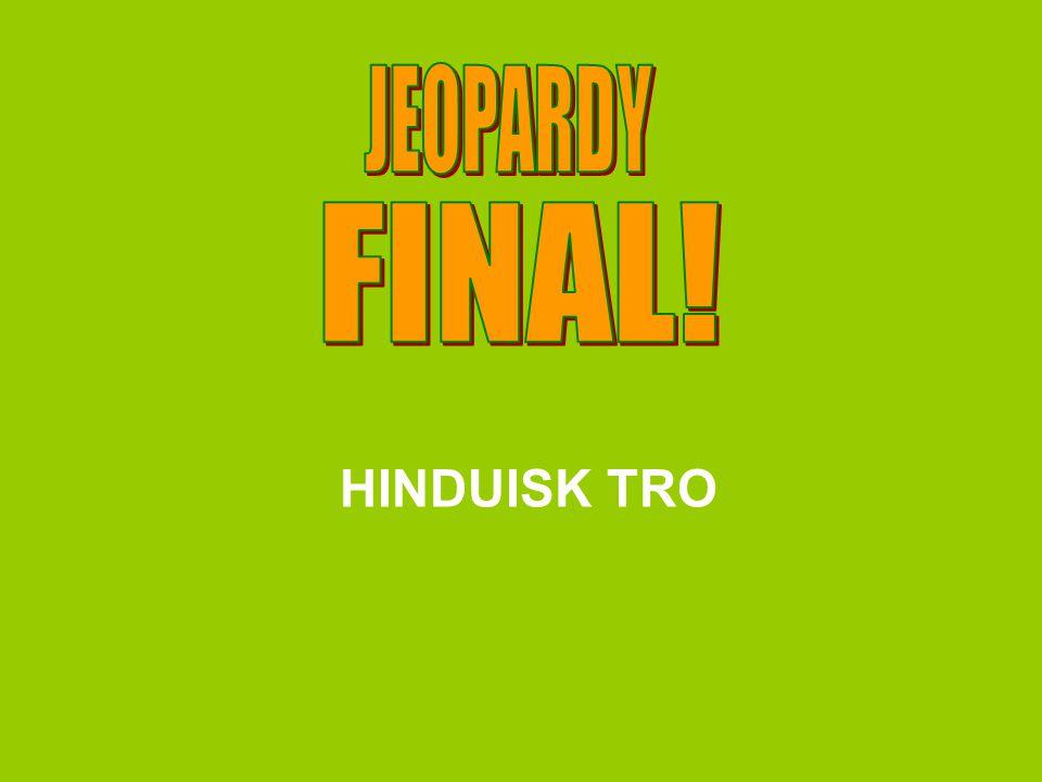 HINDUISK TRO