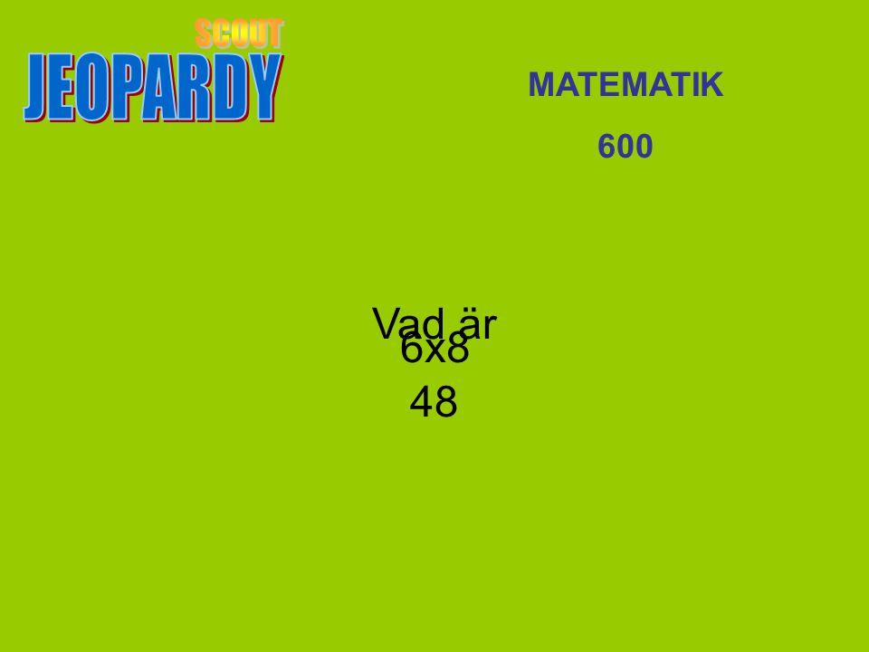 Vad är 48 MATEMATIK 600 6x8