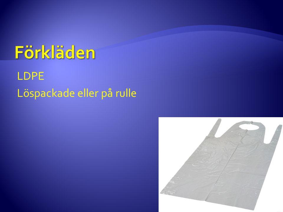 LDPE Löspackade eller på rulle