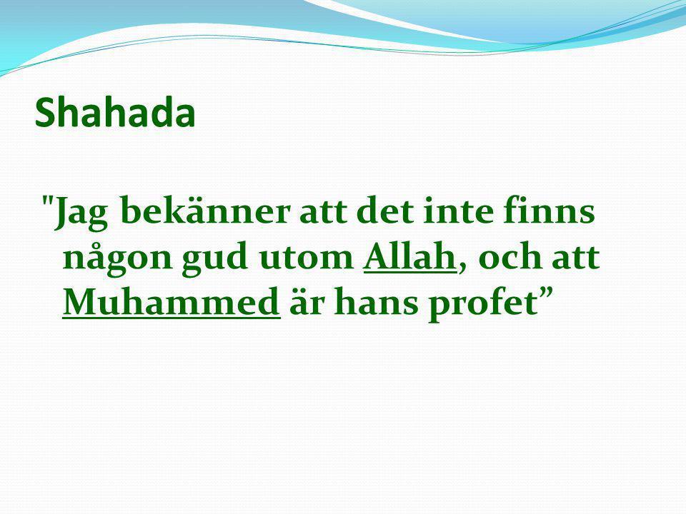 Den islamiska trilogin o Koranen (153.000 ord) o Sunna o Hadither (646.000 ord) o Sira (292.000 ord)