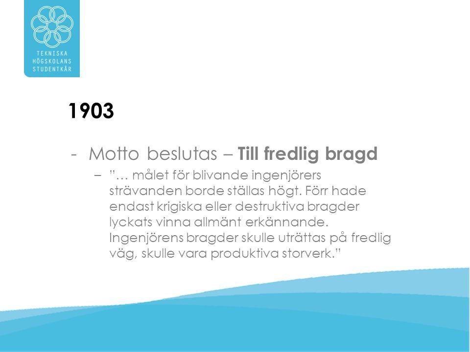 1977 -75-årsjubileum! Stor bal på Stadshuset.