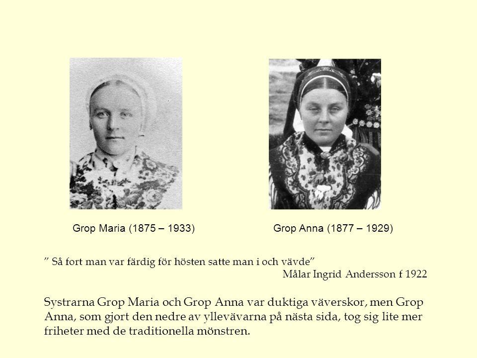 Gunnar Cassel fotograferade den här stillsamma slåtterbilden med dottern May Cassel f 1888 tillsammans med Bröms Per Nilsson (1831 – 1917) och Bröms N