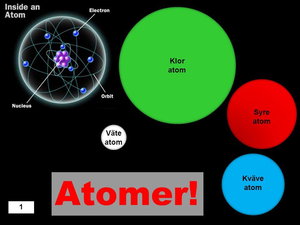 Molekyler Atomer Jord Eld Vatten Design: Örjan Norberg, november 2012 Alla ämnen, som t.ex. vatten, guld, järn, syre, blod och andra ämnen består av …