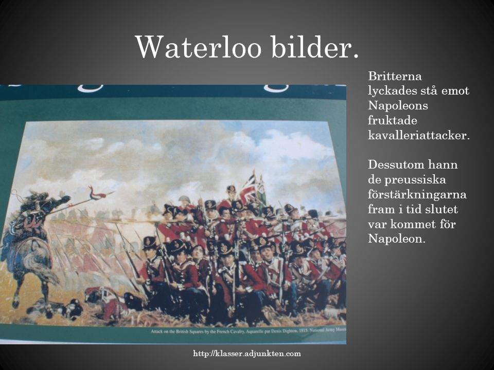 Waterloo bilder.