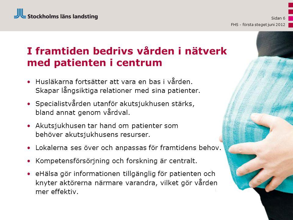 Sidan 7 eHälsa gör informationen tillgänglig och vården effektivare Patienten blir mer delaktig och informerad med hjälp av • Mina vårdkontakter – möjliggör säker kommunikation med vården via Internet.