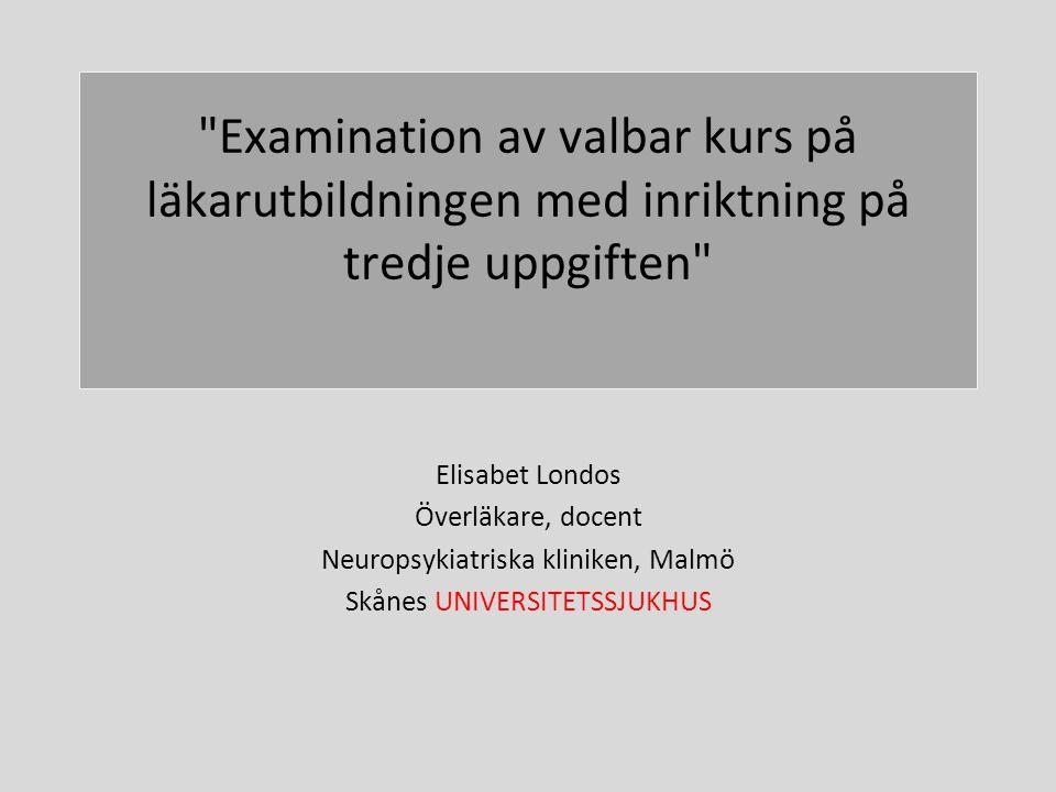 Universitets sjukhus Undervisning Forskning/Utveckling Sjukvård
