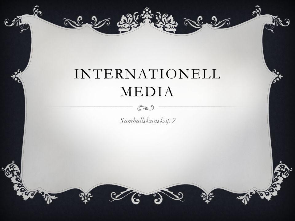2 MODERNA TRENDER I EUROPA & USA  1) Ägandet koncentreras till några få kedjor • Springer i Tyskland • Hersant i Frankrike • Murdoch i Storbritannien (Fox News) • Bonnier i Sverige  2) Större glapp mellan populära sensationstidningar och kvalitetstidningar för samhället, en välinformerad elit.