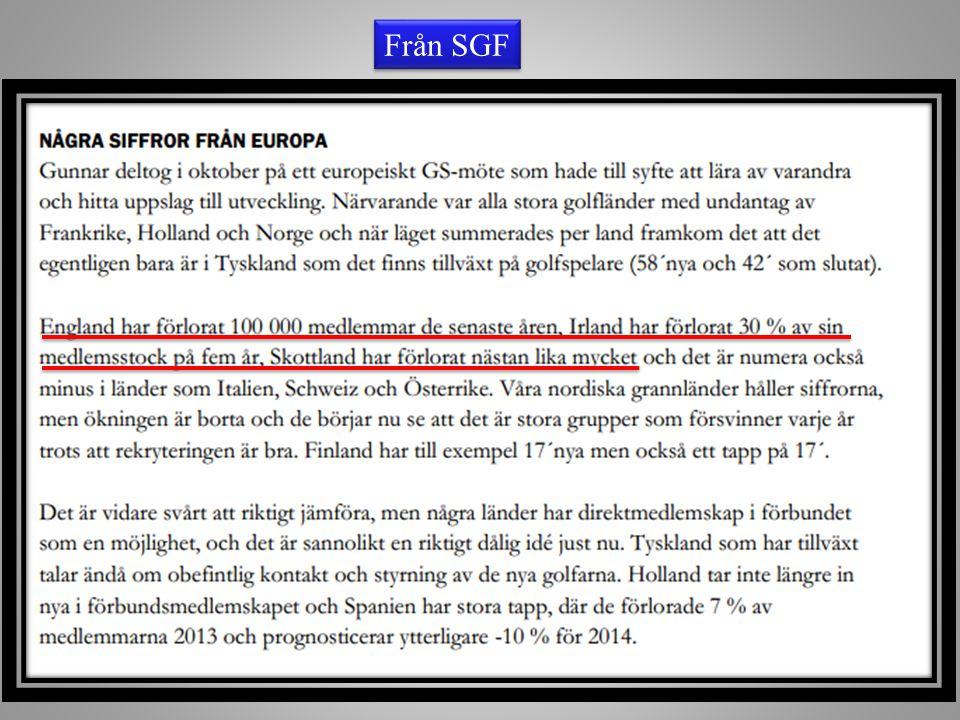 I år (och två år framåt) har vi marknadsfört oss via Visit-Sweden och SGF, för att synas mer i Danmark och Norge.
