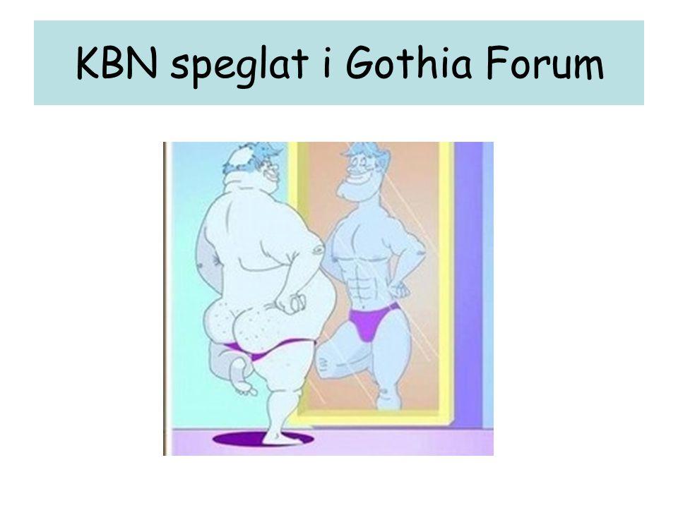 KBN speglat i Gothia Forum