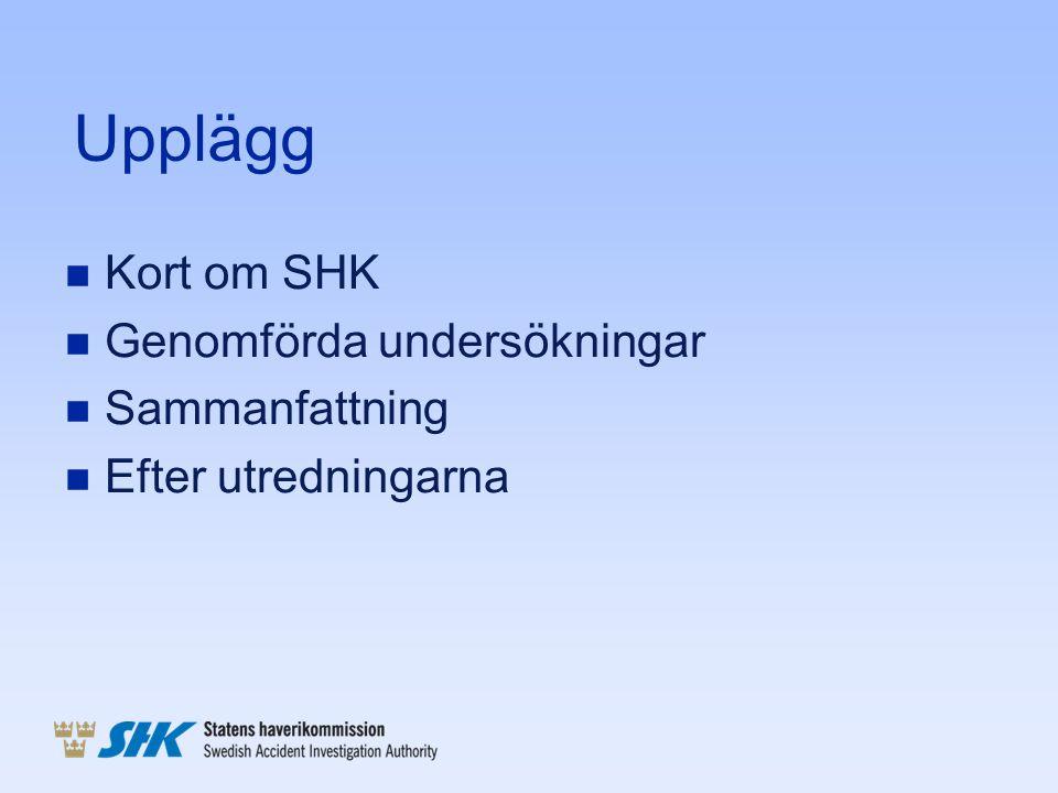 Utredningar rörande arbete i spårmiljö n En obligatorisk: Olyckan i Kimstad, 2010-09-12 En omkommen, åtta allvarligt skadade Skador ~ 100 milj 13