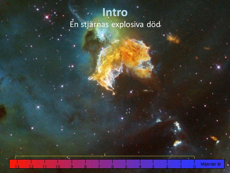 Intro En stjärnas explosiva död