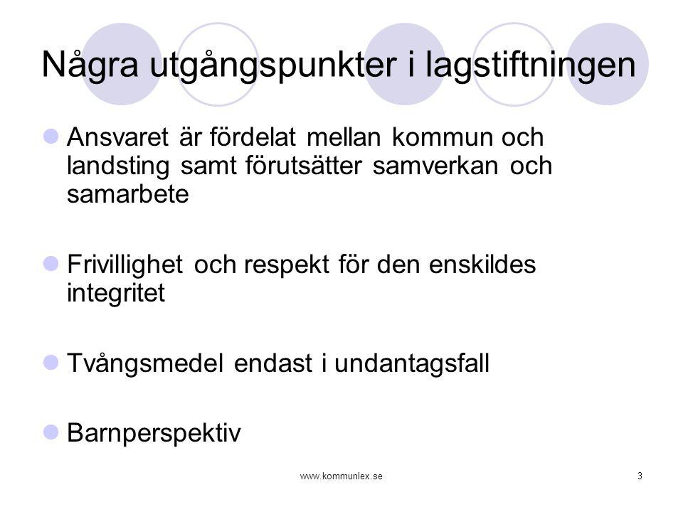 www.kommunlex.se14 Justitieombudsmannen, JO Kommunernas socialtjänst har således ålagts ett långtgående ansvar för människor med psykiska funktionshinder.