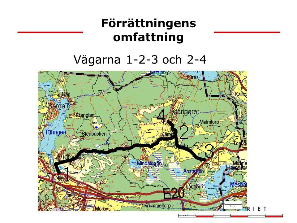Vägkostnader Kämstavägen6970 m Trafikverkets beräknade underhållskostnad inkl.