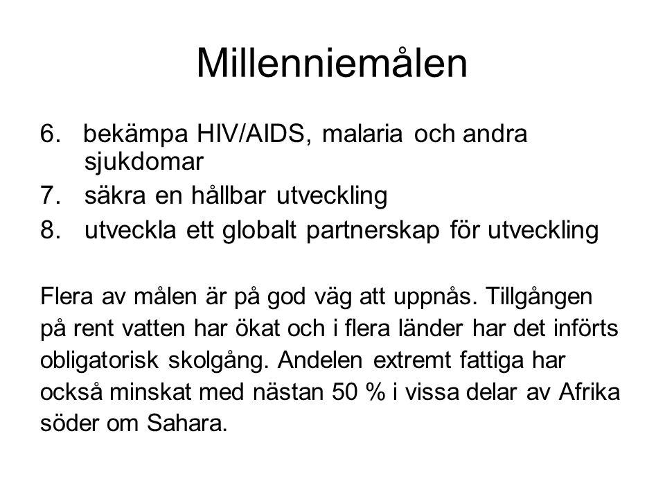 Millenniemålen 6.